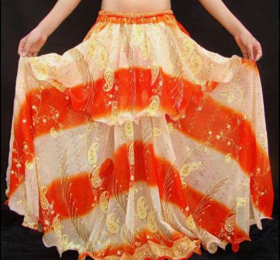 Юбка оранжевая с доставкой