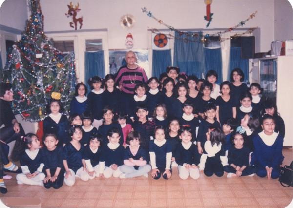 школа мадам Лазарян отмечает Новый год